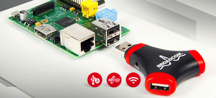 看好Raspberry Pi發展,Broadcom推專屬Wi-Fi擴充板。