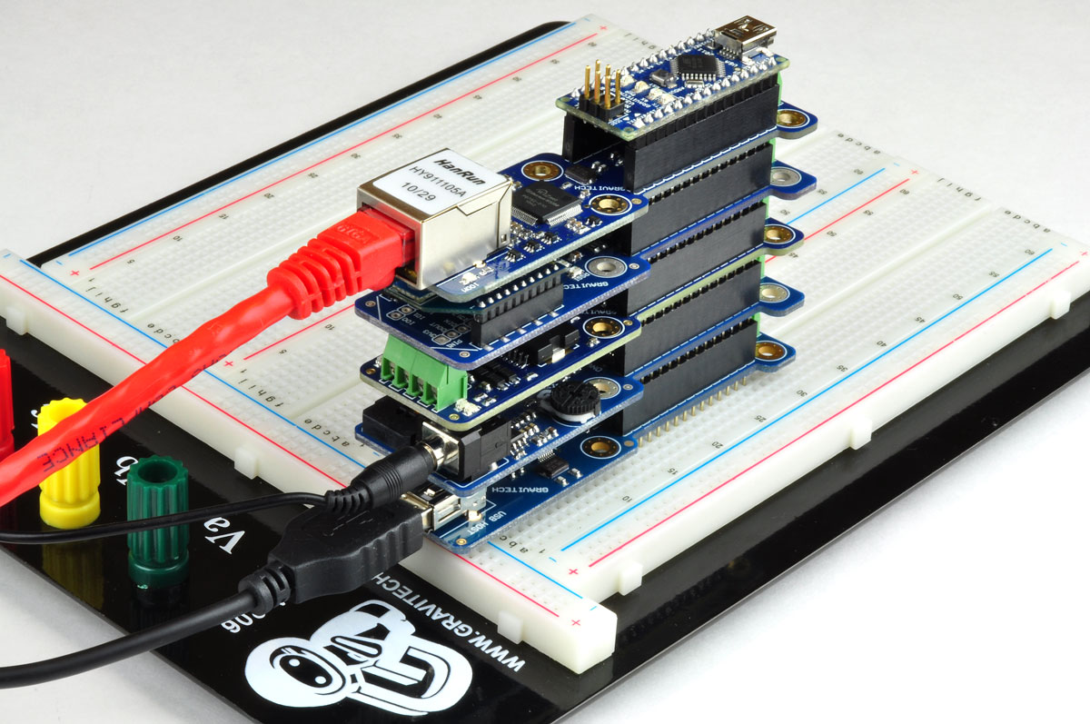 Arduino的延伸板稱為Shield。