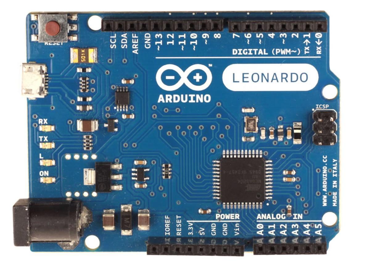 Arduino Yún的前身為Arduino Leonardo
