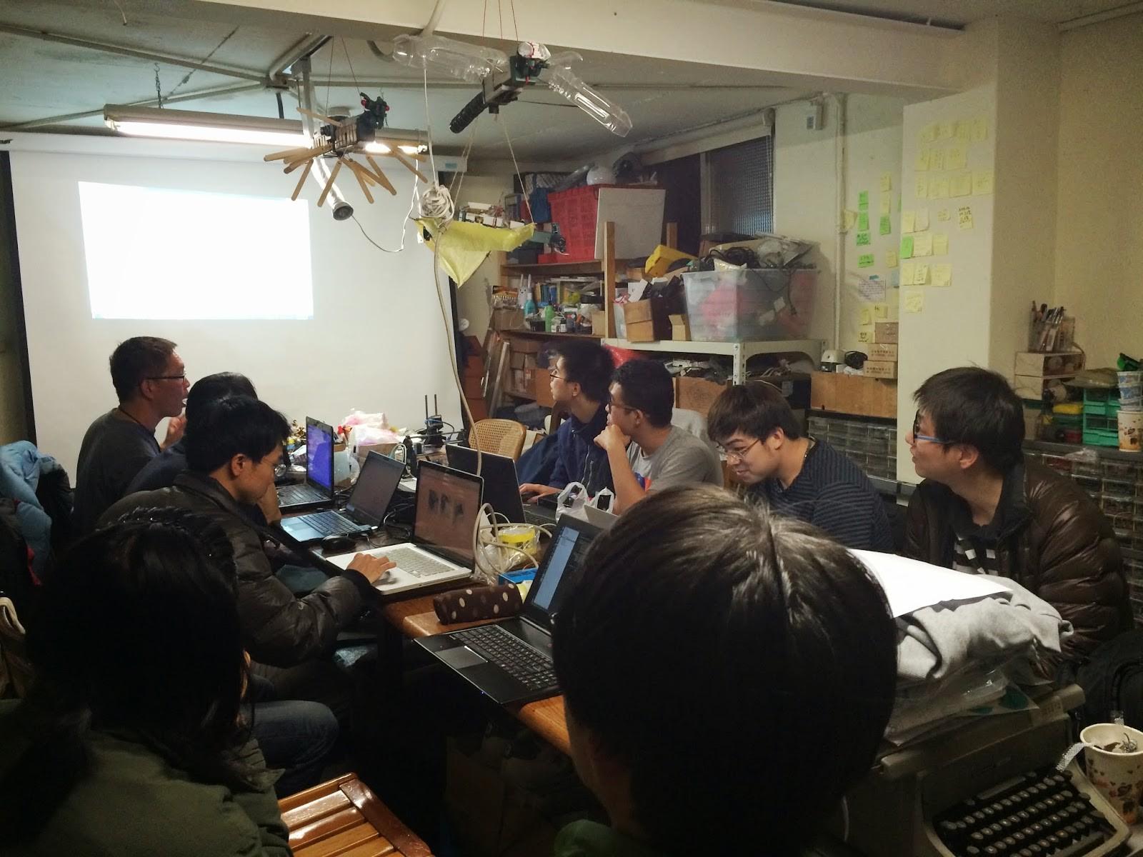 [藍色小鋪一起來做] 在Openlab Taipei動起來!