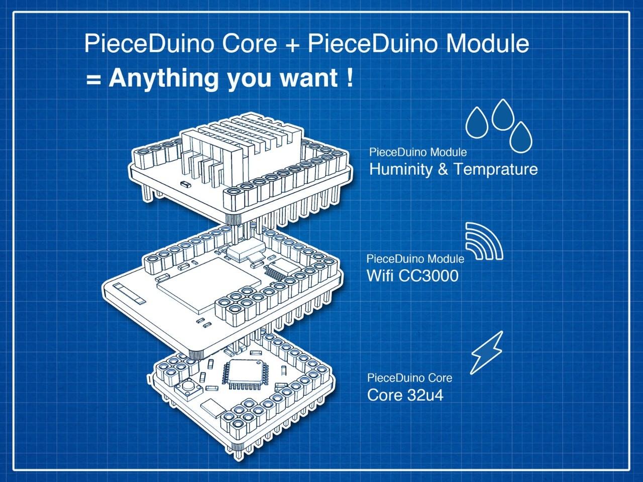 PieceDuino:讓Maker不用再煩惱佈線的模組化方案,為何無法有好的群募成果?