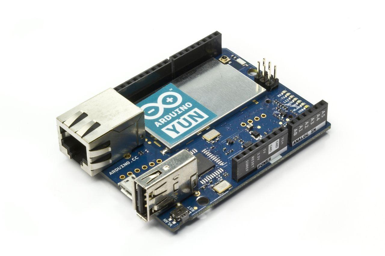 功能更強的雙核心Arduino Yún