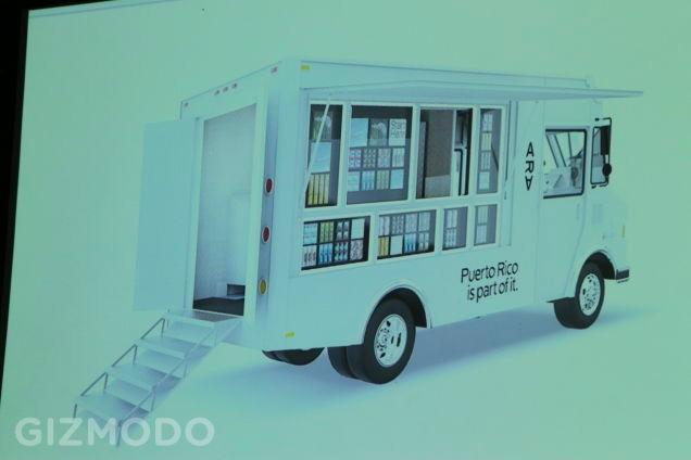 Project Ara準備用行動餐車模式來提供服務。