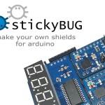 StickyBug – 快速堆出自己的Arduino shield