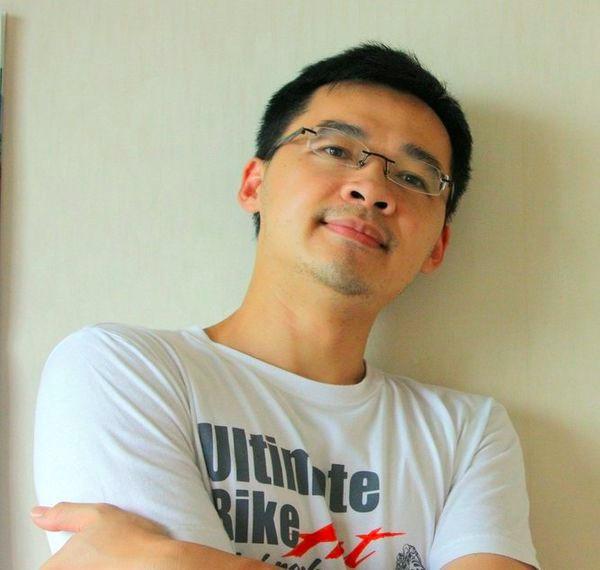 回台南協助在地企業國際化的JustV創辦人Ivan。