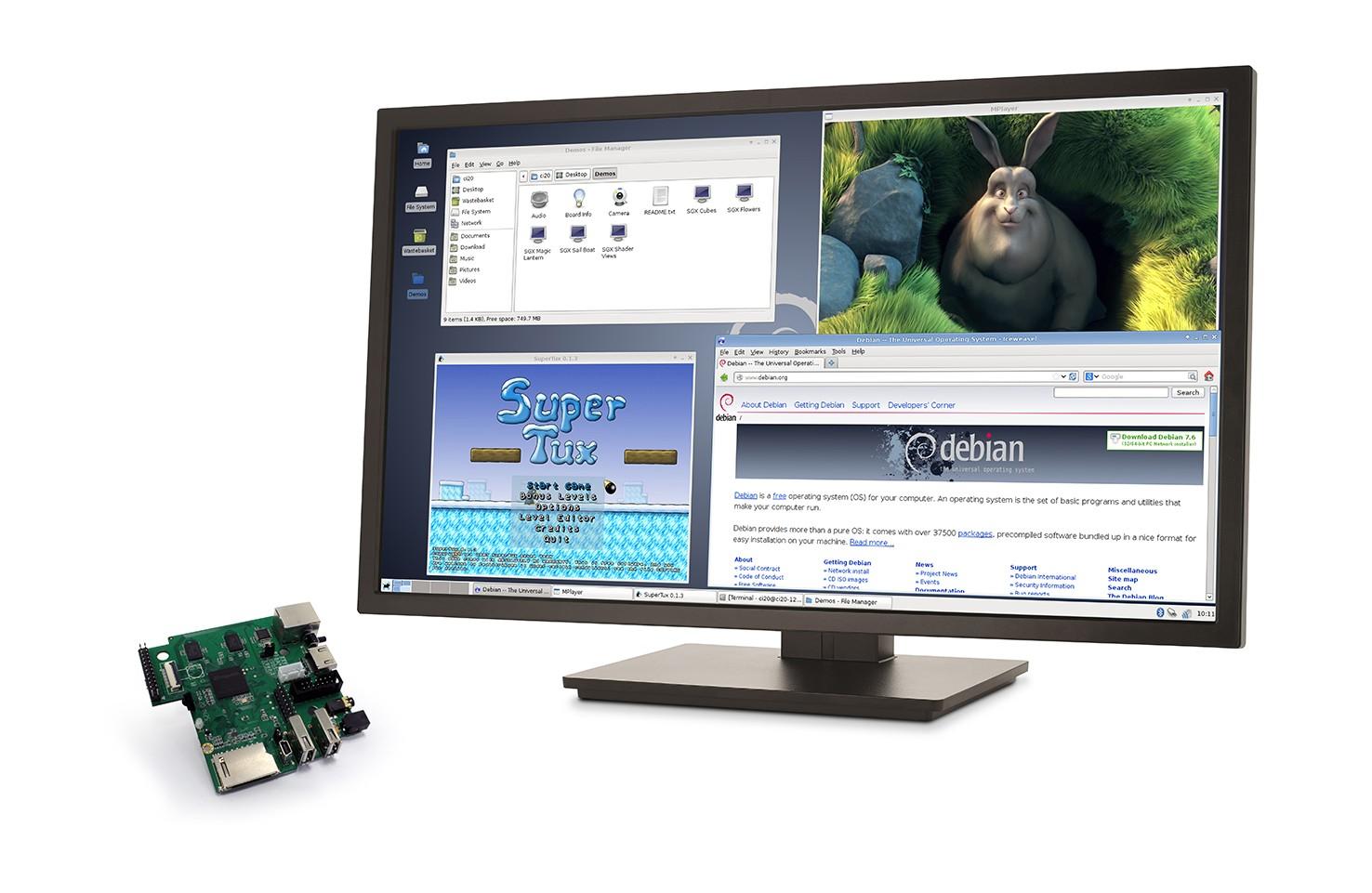 MIPS核心的Creator CI20開發平台來了,與Raspberry Pi打起對台。