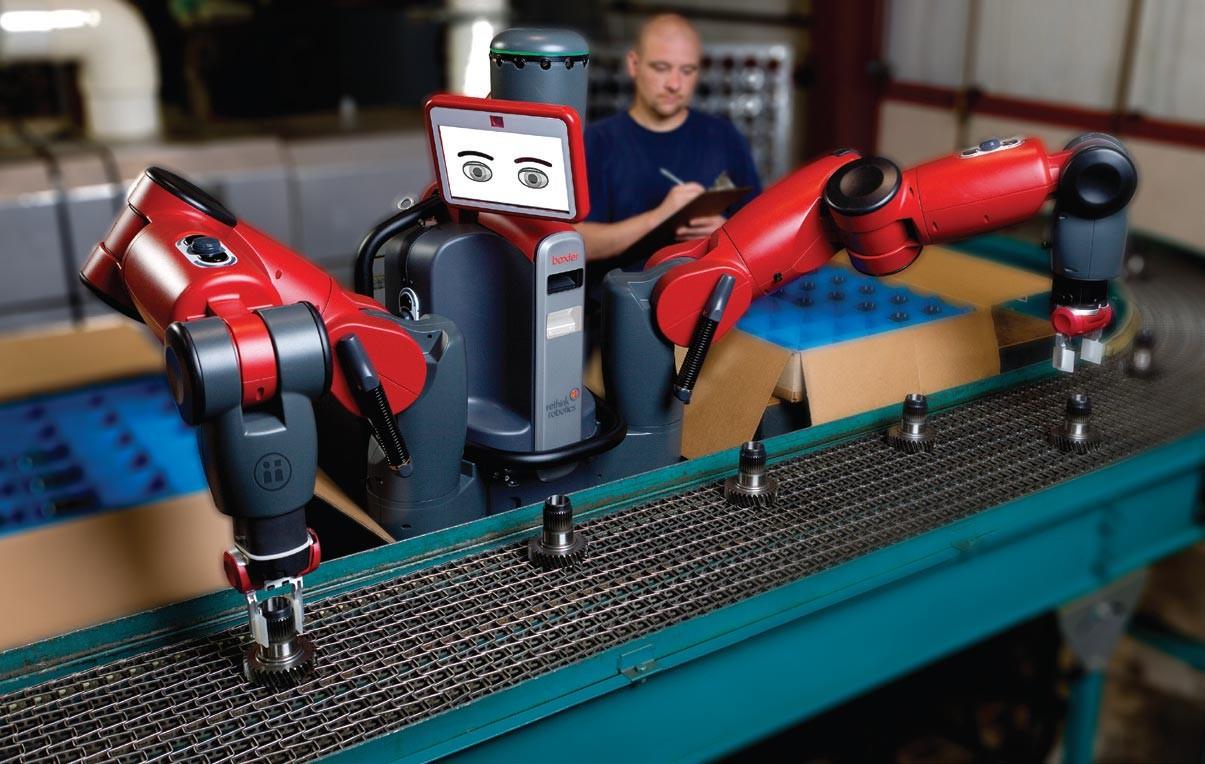 Rethink公司主力產品機器人-Boxter