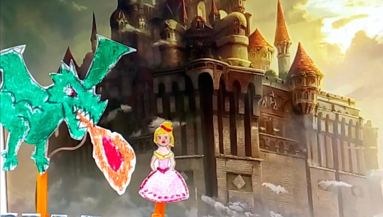 透過Onduino讓兒童故事劇場的角色可以輕鬆動起來。