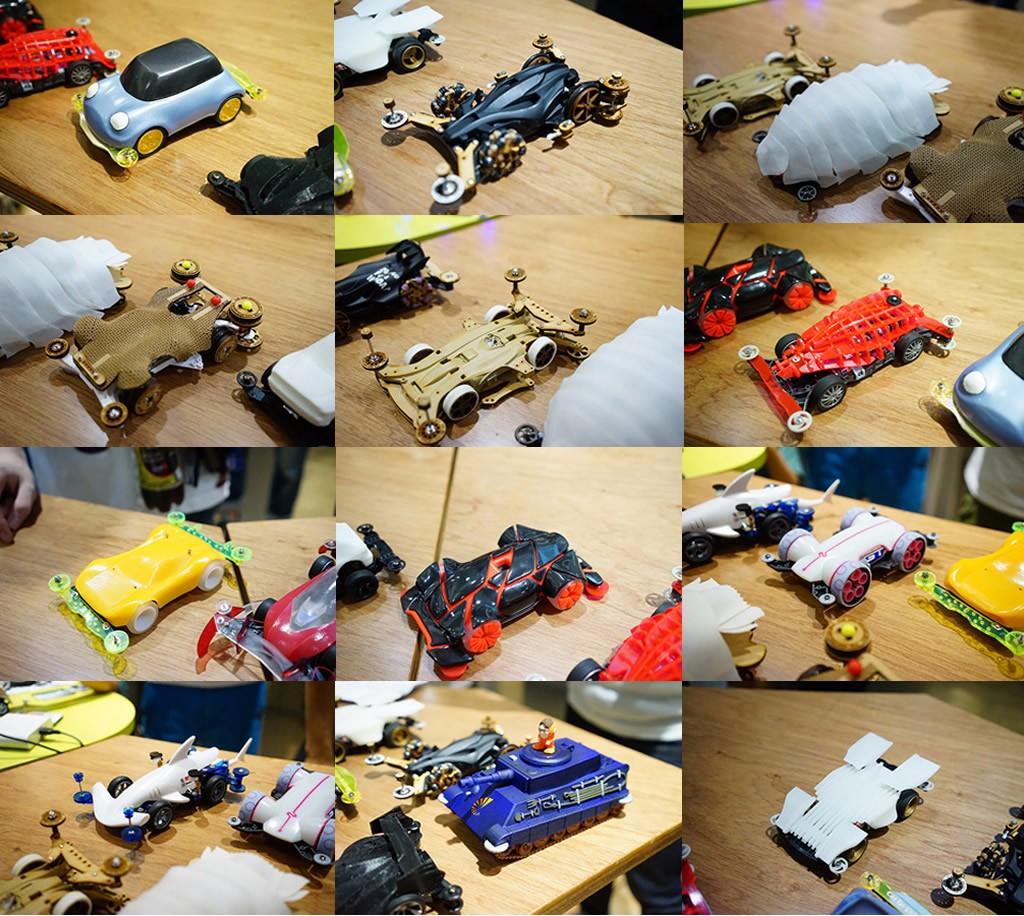 用3D列印設計四驅車車殻。