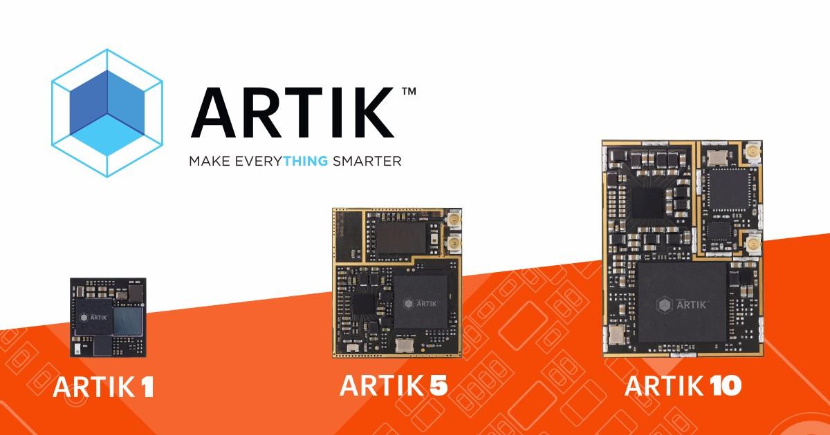 Samsung 也開發了 ARTIK 平台,期望通過 Arduino 認證計畫。