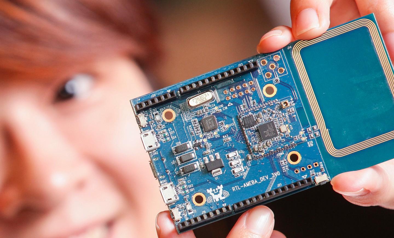 Realtek為Maker及Startup推出Ameba物聯網開發平台。(攝影:林鼎皓)