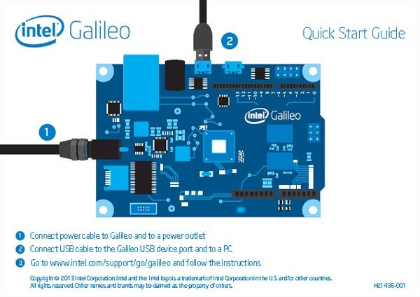 Intel 推出的 Arduino 相容平台-伽利略(Galileo)。