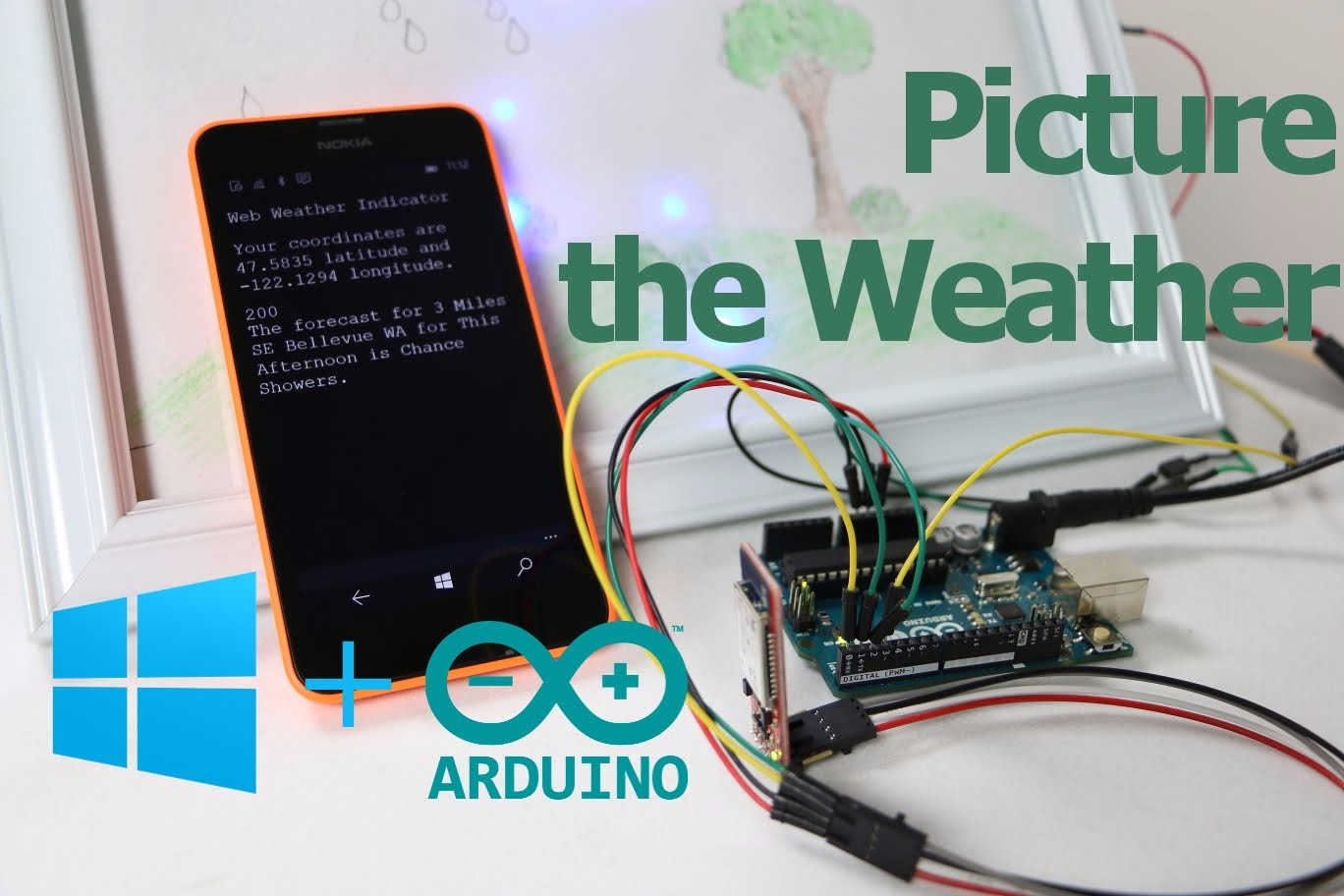 Windows Virtual Shield可讓Windows Phone成為Arduino的Sensor Hub