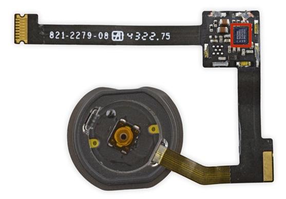 iPad Air 2 指紋辨識模組