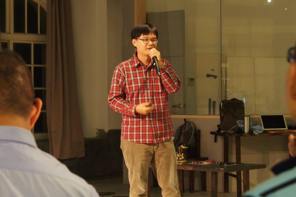 特斯拉機器人設計學苑共同創辦人林詩頎。