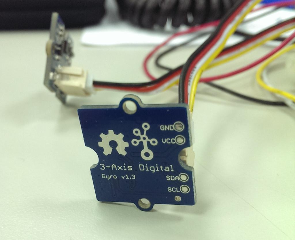 三軸陀螺儀(Grove - 3-Axis Digital Gyro)