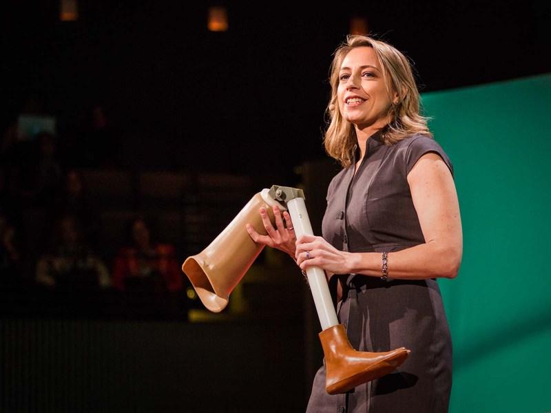 Krista Donaldson致力開發讓窮人也買的起的腳部義肢。