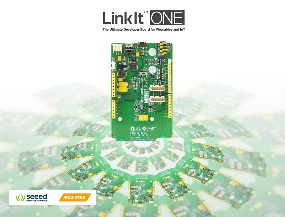 Linkit ONE與Seeed Studio合作密切