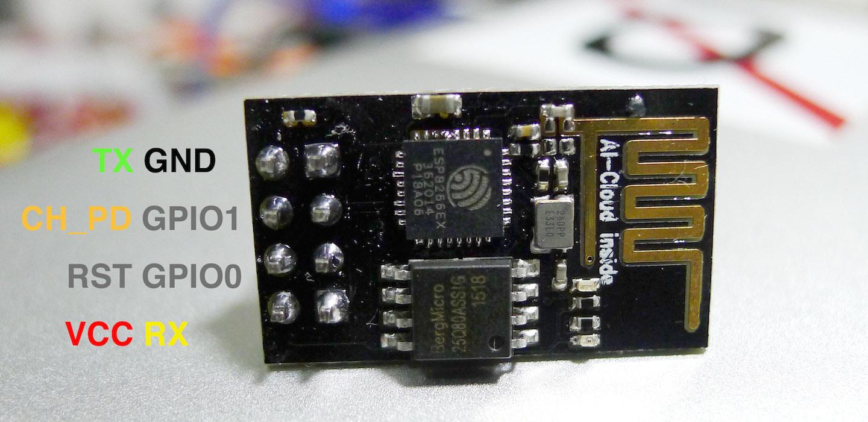超便宜的 WiFi 晶片 - ESP8266