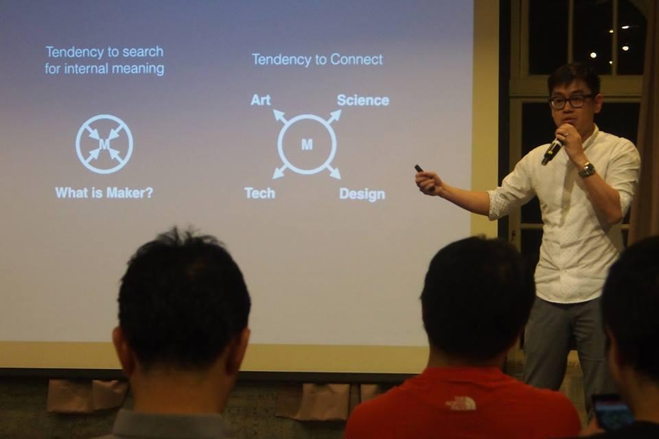 黃駿賢認為可從Tendency和Impact兩方面去看Maker運動。