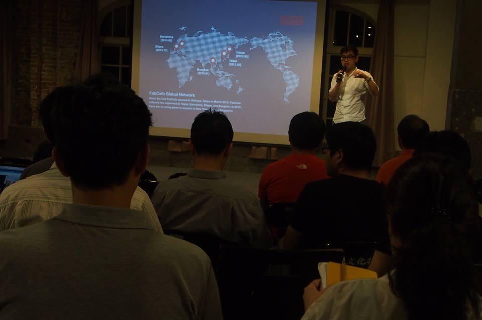 自三年前在東京成立FabCafe後,如今已在西班牙、泰國和台灣成立了總共五間的FabCafe。