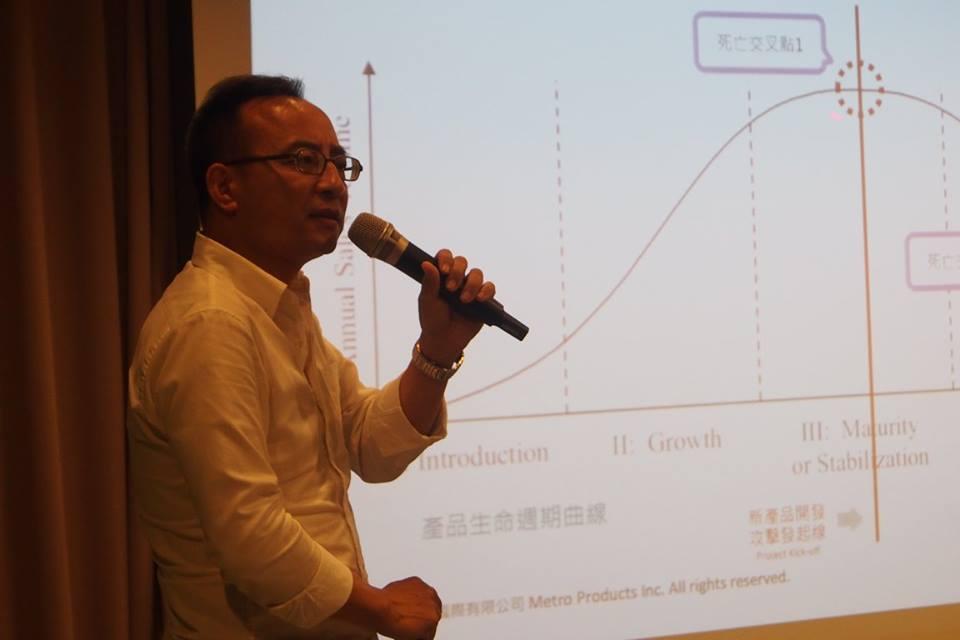 Dennis:Me too產品很容易遭遇因上市時間落差的死亡曲線。