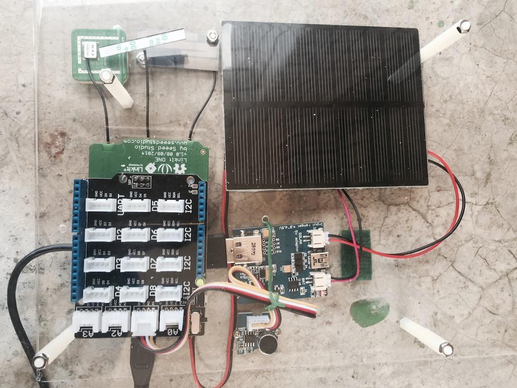 LASS感測設備原型