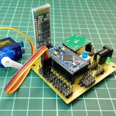 【雷基斯的Spider Robot】PCB製作:熱轉印+蝕刻+上料錫焊