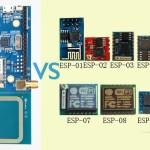 Ameba vs. ESP8266 齊頭較量賽