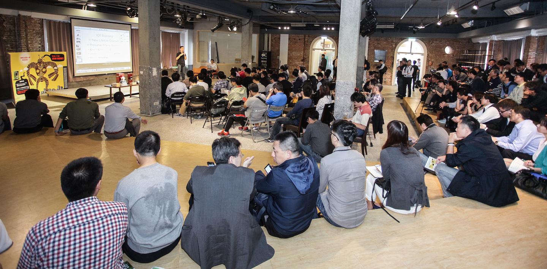 Realtek在華山舉辦Ameba創意競賽說明會,現場人山人海。