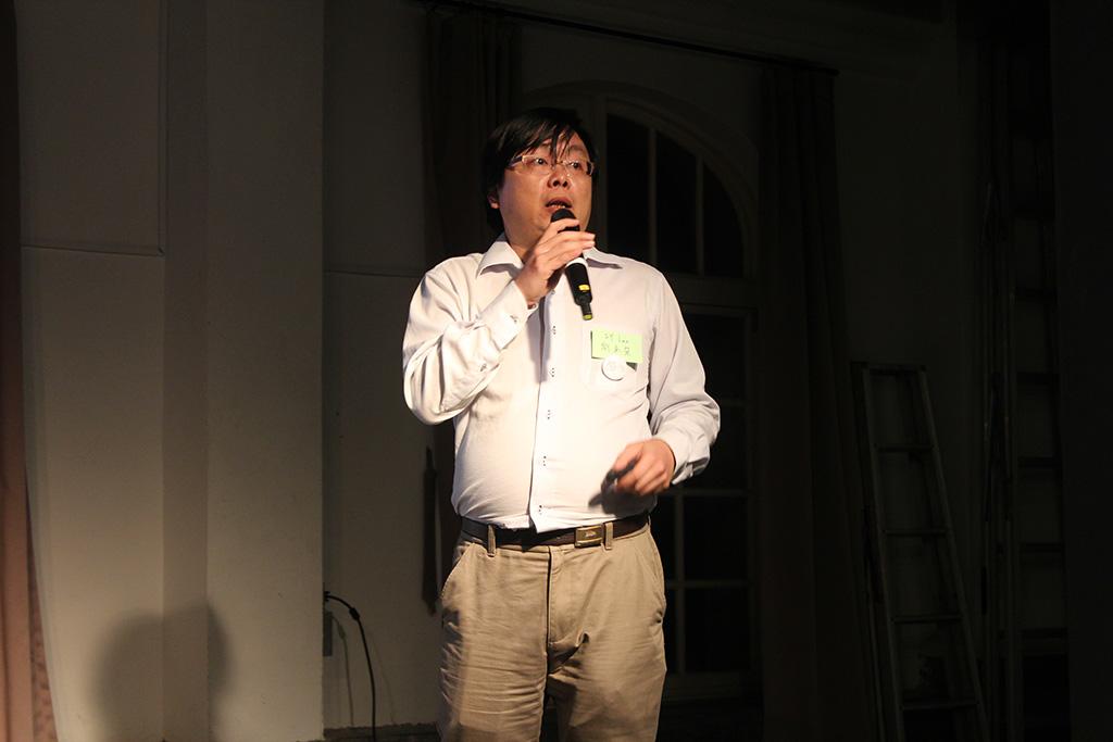 劉承榮與大家分享如何做氣體感測