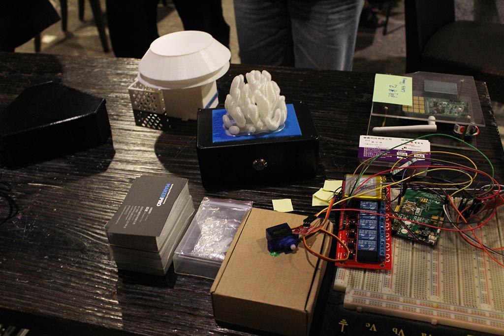 LASS環境感測器網路系統開源計畫相關展示