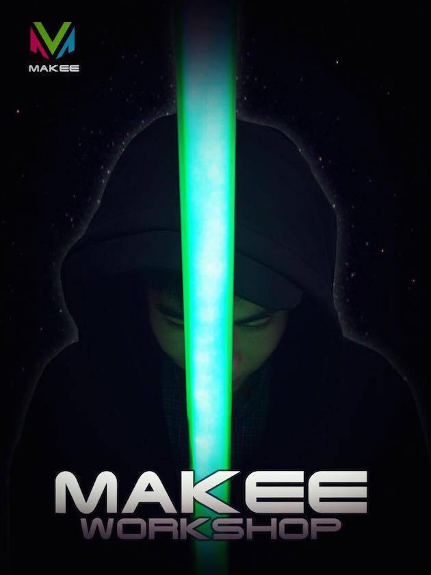 Makee.io近期將舉辦光劍製作工作坊