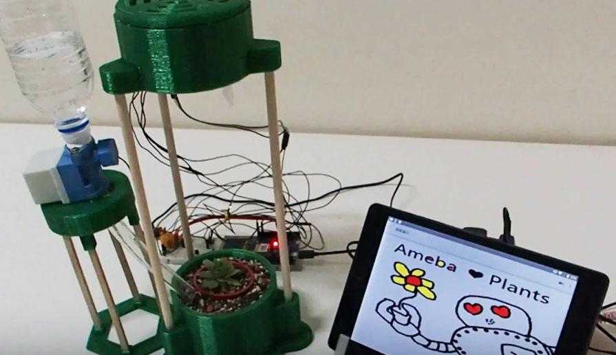 智慧桌面植物栽培器-i-greenhouse