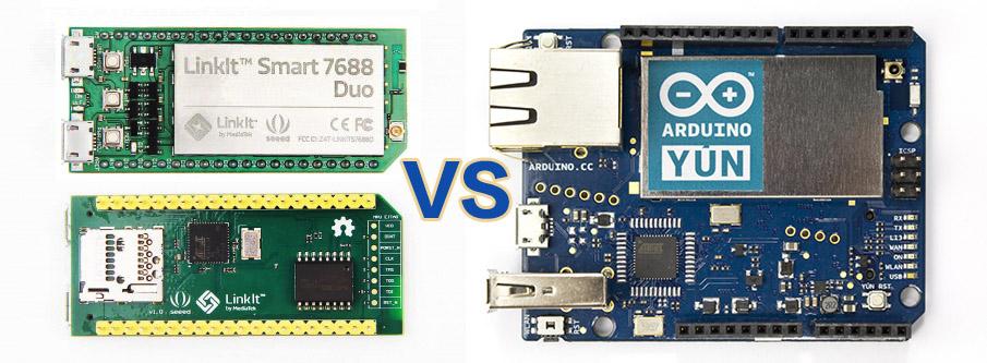 LinkIt Smart Duo vs Arduino Yun