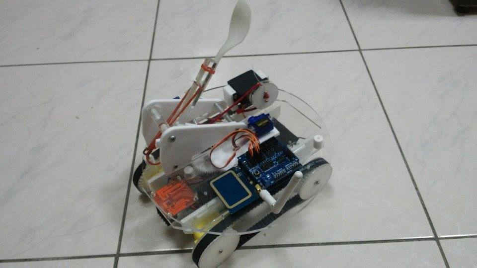 IoT for Kids投石車成品