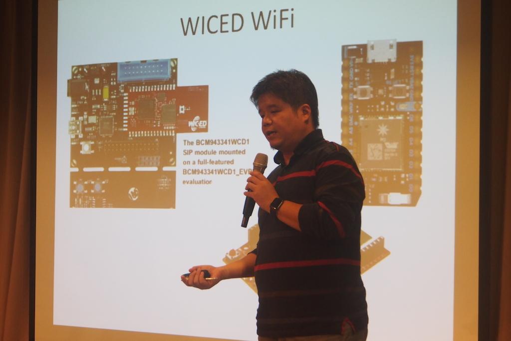 Wiced具有容易將產品量產,且開發較有效率的優勢。