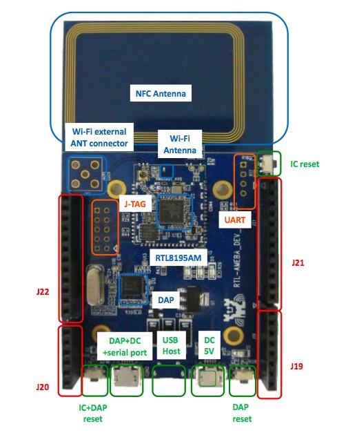 圖片上方為NFC天線,若不需用到這一功能,上方這塊可拆掉。