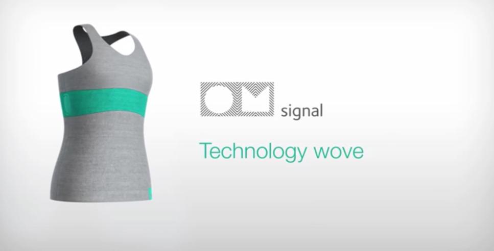 OMsignal的智慧衣