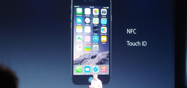 iPhone 6支援NFC信用卡摸擬功能。