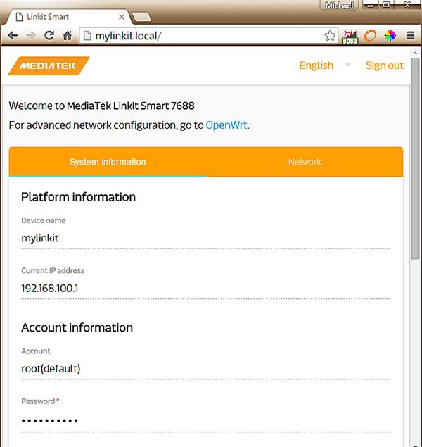 登入Linux系統後的頁面