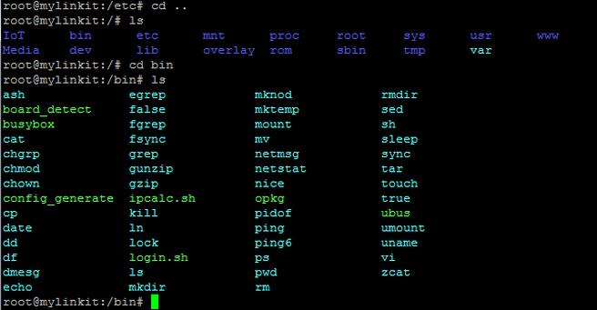 Linux系統中,常用指令示範