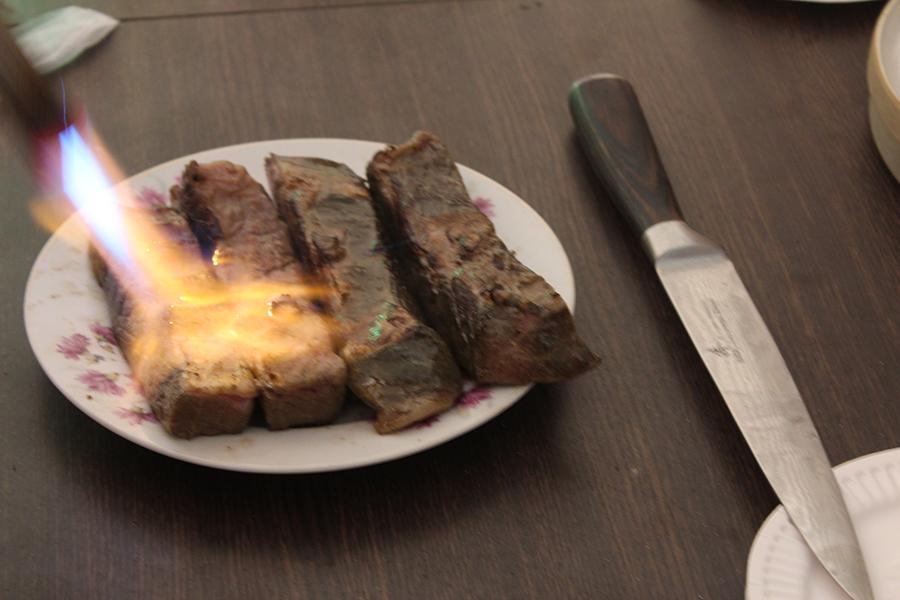 2/24分享會真空低溫料理試吃36小時牛排