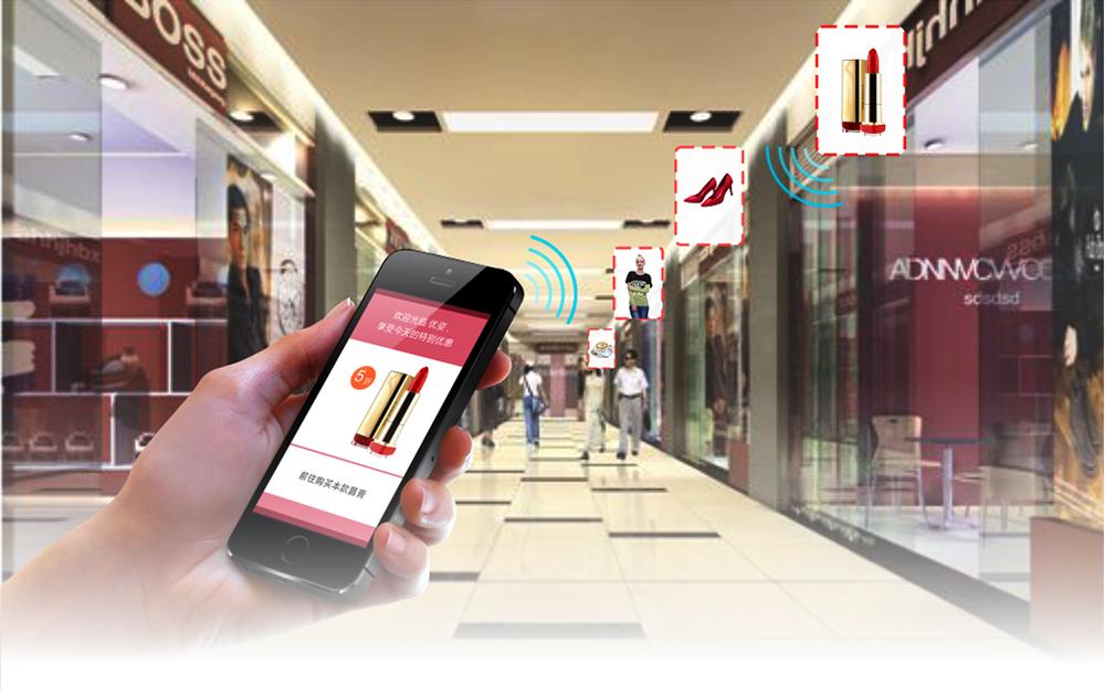 iBeacon、NFC、Wi-Fi都被開發用於導購情境當中。