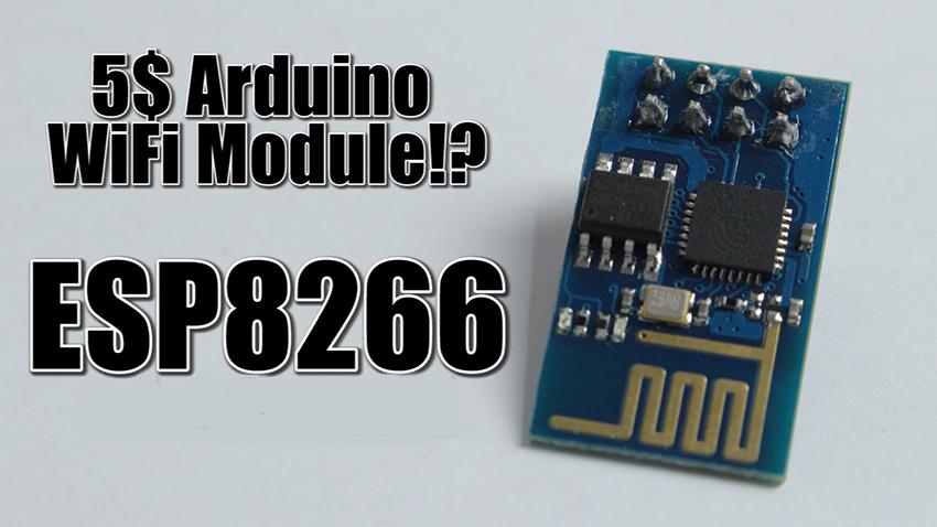 平價的Wi-Fi收發器晶片ESP8266