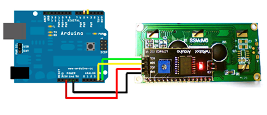 I2C 連接I2C LCD Slave 裝置