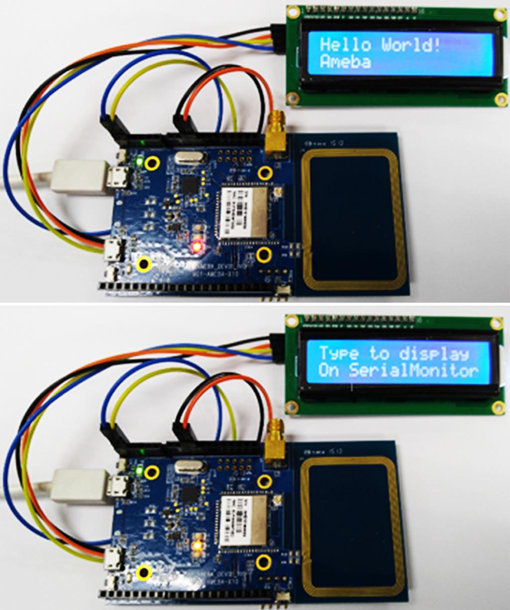 LCD顯示器控制畫面