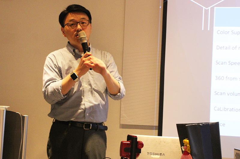 Molecule 3D行銷總監John Fu