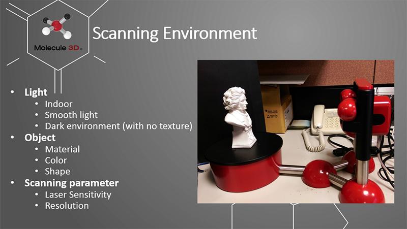 3D列印機掃描環境介紹