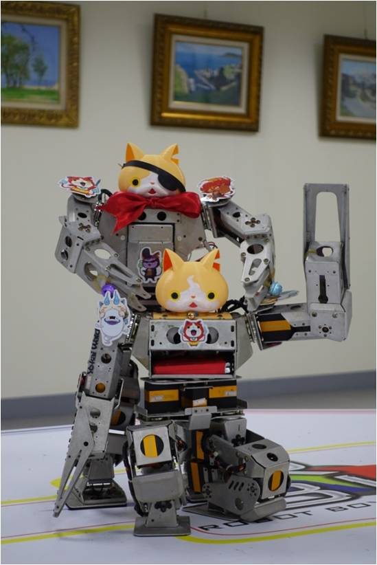 人型機器人-吉胖喵2人組